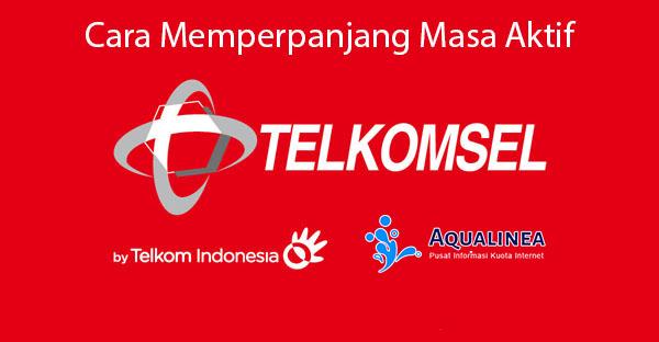 Cara Memperpanjang Masa Aktif Kartu AS Telkomsel tanpa Pulsa