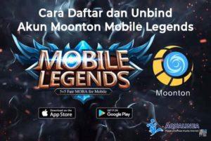 Cara Daftar dan Unbind Akun Moonton Mobile Legends
