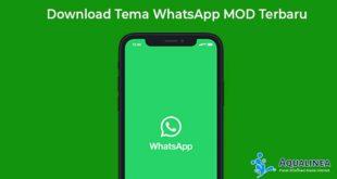 Download Tema WhatsApp MOD Terbaru Keren dan Lucu 2019