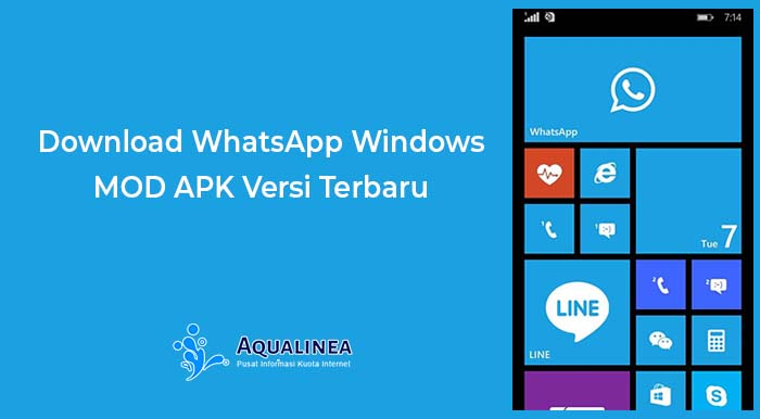 Download WhatsApp Windows MOD APK Versi Terbaru 2019